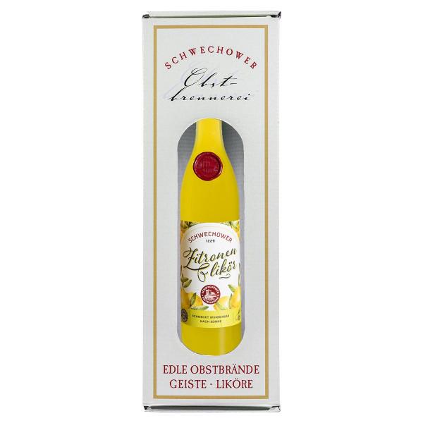 Likör Zitrone 0,5l + in Geschenkkarton (30%Vol.)