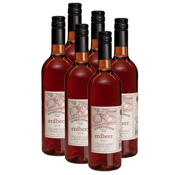 6 x Erdbeerwein 0,75l (8,5%Vol.)