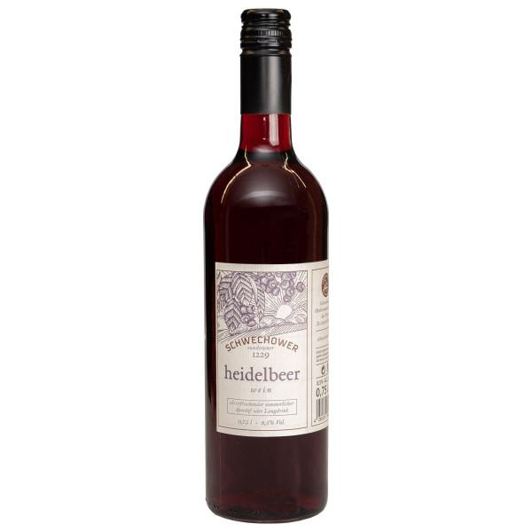 Heidelbeerwein 0,75l (8,5%Vol.)
