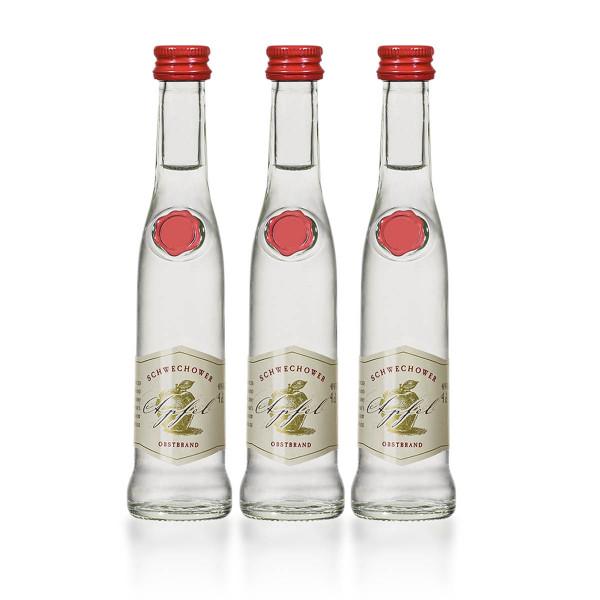 Schwechower 1229® Apfelbrand (3x4cl Probier- & Geschenkset)