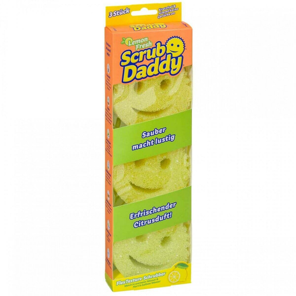 3 x Scrub Daddy Lemon Fresh