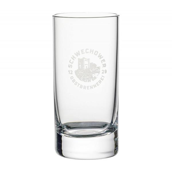 Schwechower Stamper / Kornglas (6 Stück)