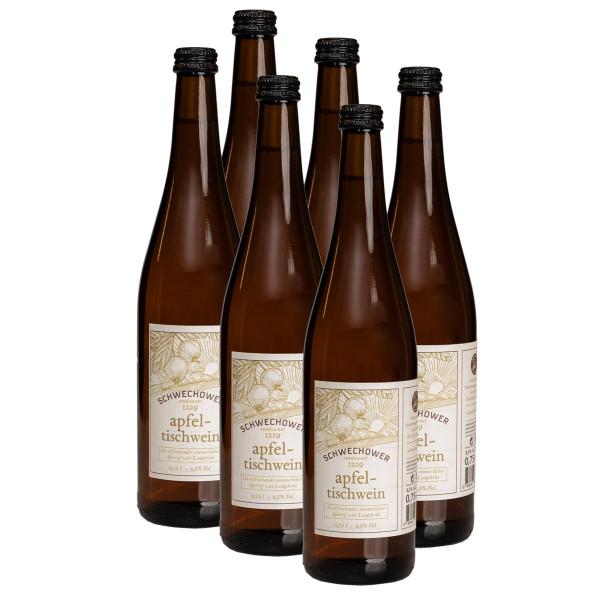 6 x Apfel-Tischwein 0,75l (11%Vol.)