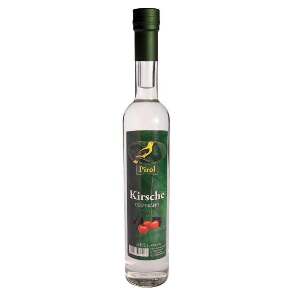 Pirol Obstbrand Kirsche 0,5l (Kirschbrand) - 40%Vol.