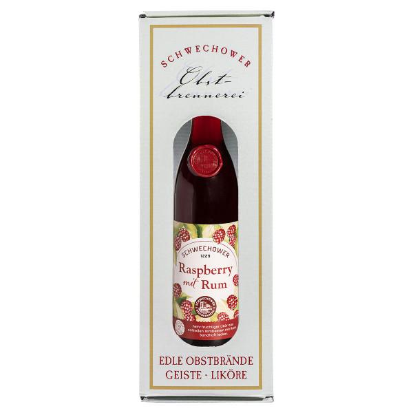 Likör Raspberry & Rum 0,5l in Geschenkkarton (16%Vol.)