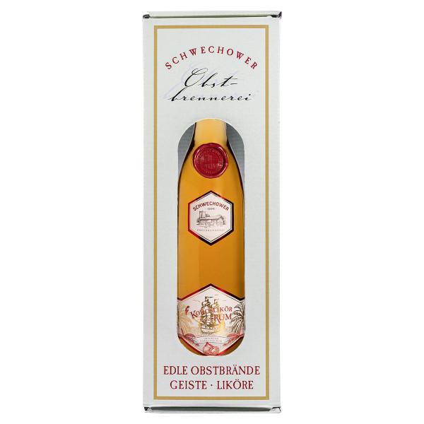 Likör Kokos mit Rum 0,5l in Geschenkkarton (38%Vol.)