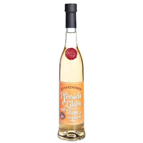 Schwechower Likör Peach & Rum 0,5l (18%Vol.)
