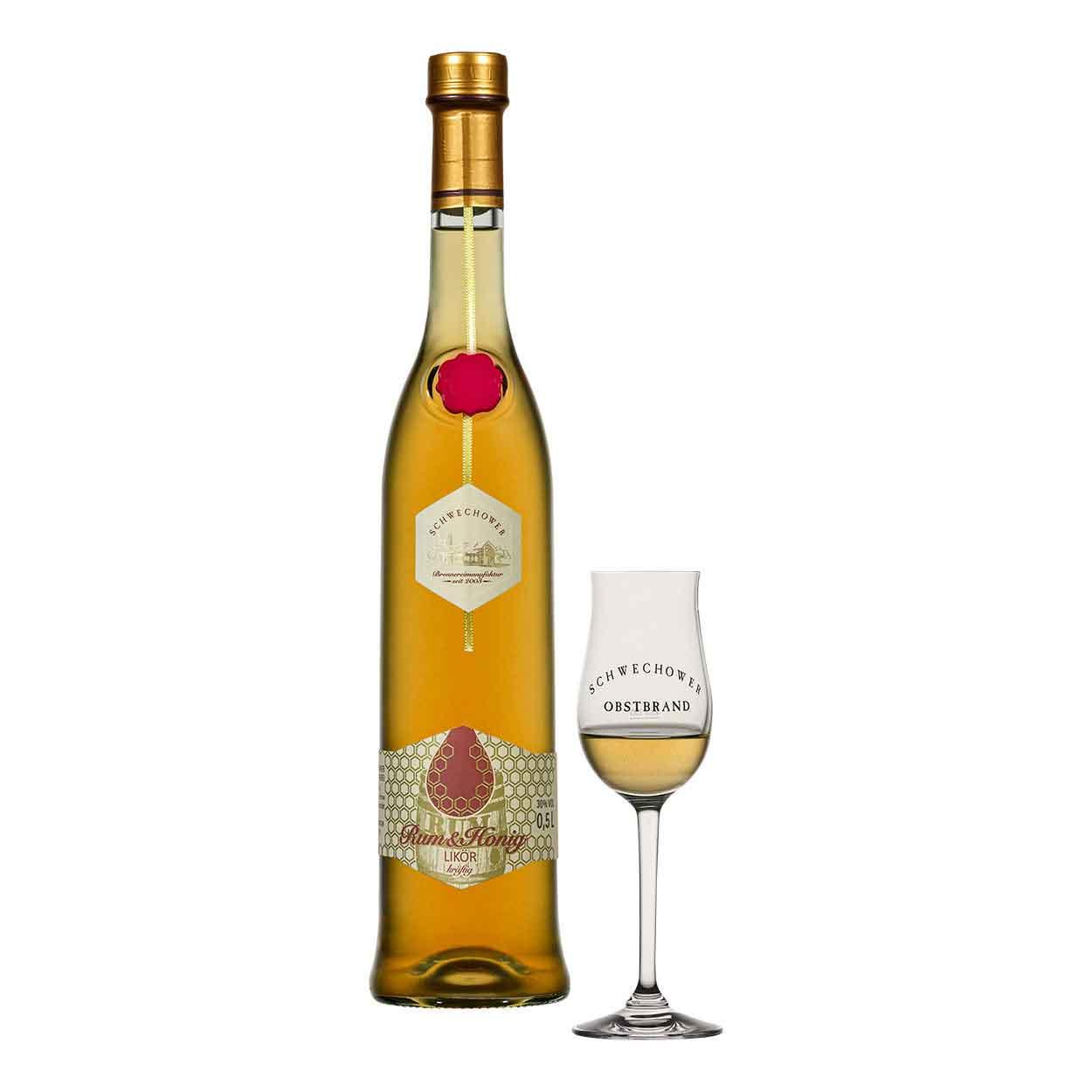 Schwechower-Rum-Honig-Likor-500ml-2